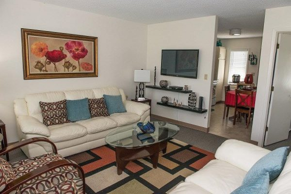 Cozy livingroom and kitchen